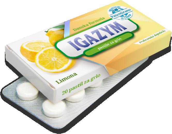 Igazym limona pastile za grlo, 20 tablet