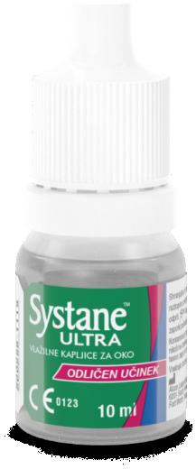 Systane Ultra vlažilne kapljice za oko, 10 ml