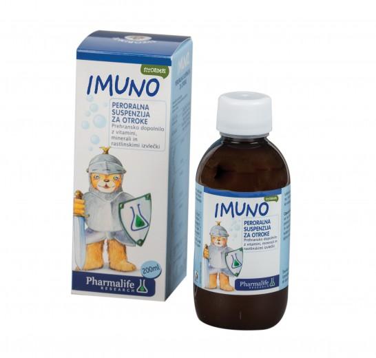 Pharmalife Research, fitobimbi imuno, peroralna suspenzija, 200 ml