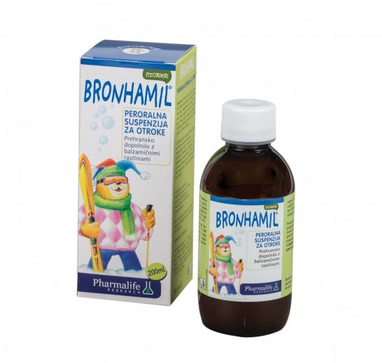 Pharmalife Research, fitobimbi bronhamil, peroralna suspenzija, 200 ml