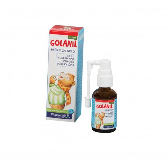 Fitobimbi Golanil Junior, pršilo za grlo-30 ml