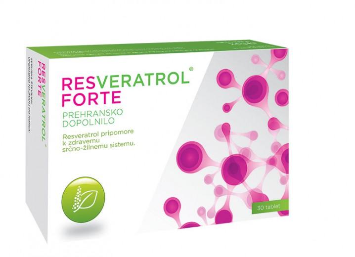 Pharmalife Research, resveratrol forte, 30 tablet