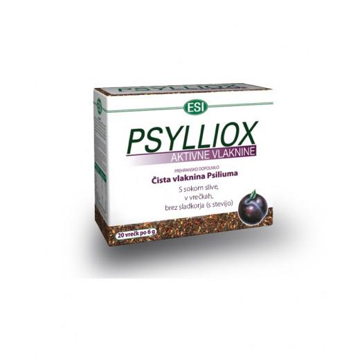 Esi, psylliox aktivne vlaknine, 20 vrečk po 6 g