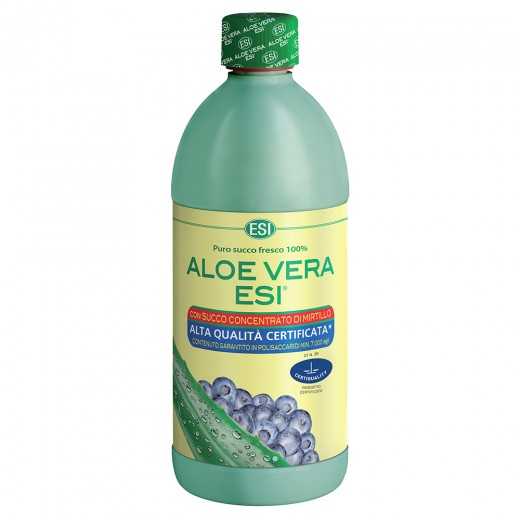 Čisti sok Aloe Vera Esi borovnica, 1 l