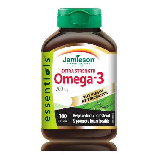 Jamieson, omega - 3 ekstra moč brez priokusa po ribah, 158 g, 100 kapsul