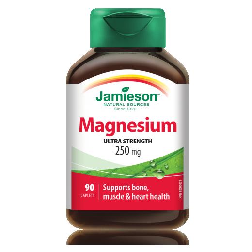 Jamieson, elementarni magnezij, 250 mg, 90 tablet