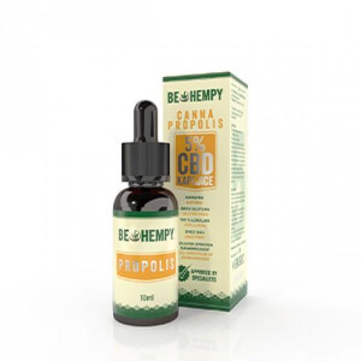 Be Hempy, 5 % CBD konopljine kapljice s propolisom canna propolis, 10 ml