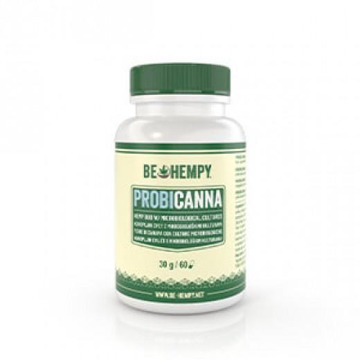 Be hempy, probicanna CBD konopljin cvet, 60 kapsul