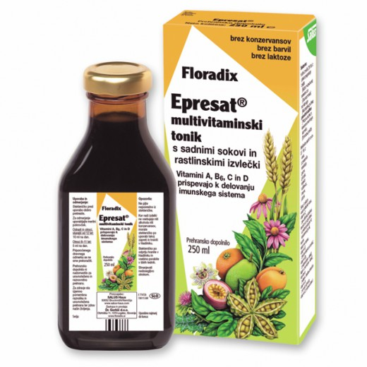 Floradix, epresat multivitaminski tonik, 250 ml
