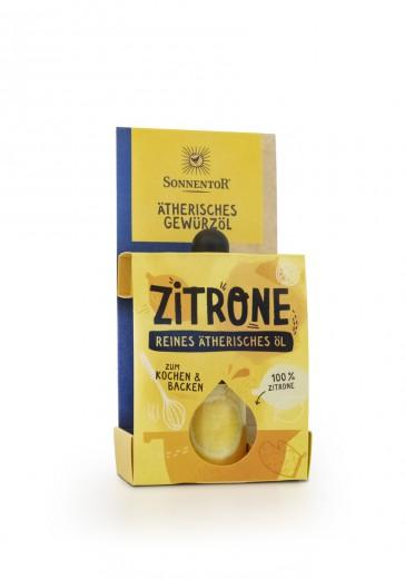 Bio začimbno eterično olje limone