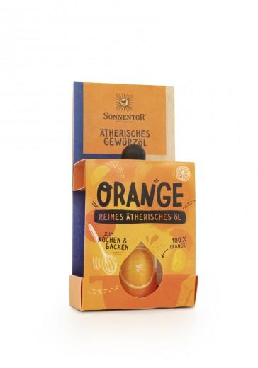 Bio začimbno eterično olje pomaranče