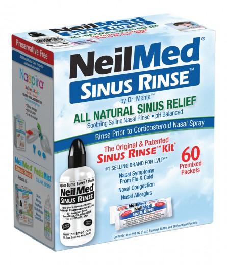 SINUS RINSE set ( 60 vrečk )