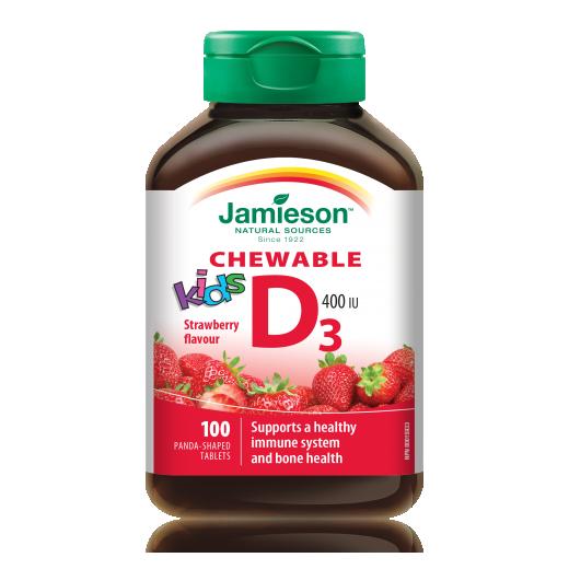 Jamieson vitamin D3 bonboni otr 100x