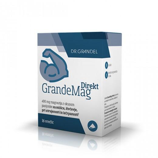 dr. Grandel, grandemag magnezij direkt, 16 vrečk