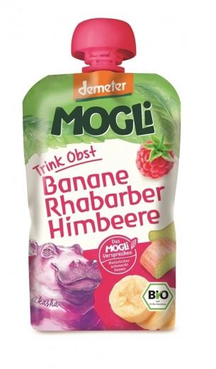 Ekološki smuti napitek Demeter - malina Mogli, 100 g