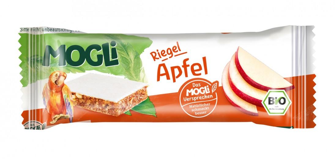 Ekološka ploščica z jabolkom Mogli, 25 g