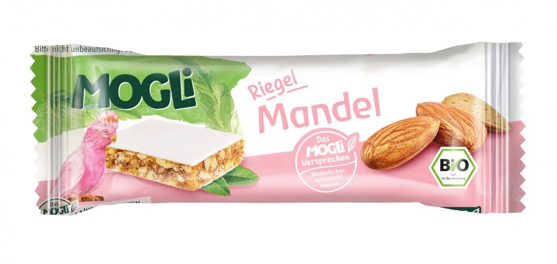 Ekološka ploščica z mandlji Mogli, 25 g