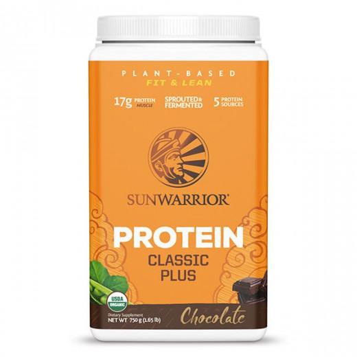 Proteini Sunwarrior Classic Plus čokolada, 750 g