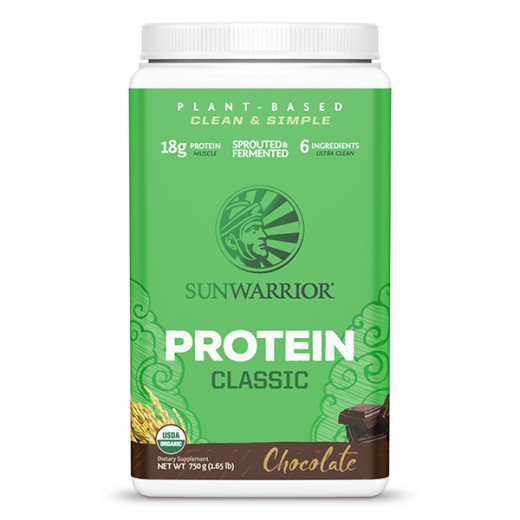 Proteini Sunwarrior Classic čokolada, 750 g