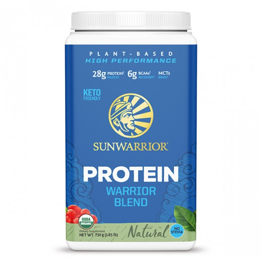 Proteini Sunwarrior Warrior Blend natural, 750 g