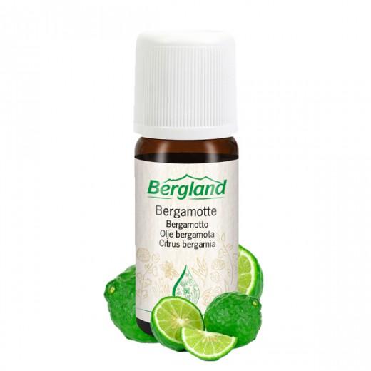 Eterično olje BERGAMOTA Bergland, 10 ml