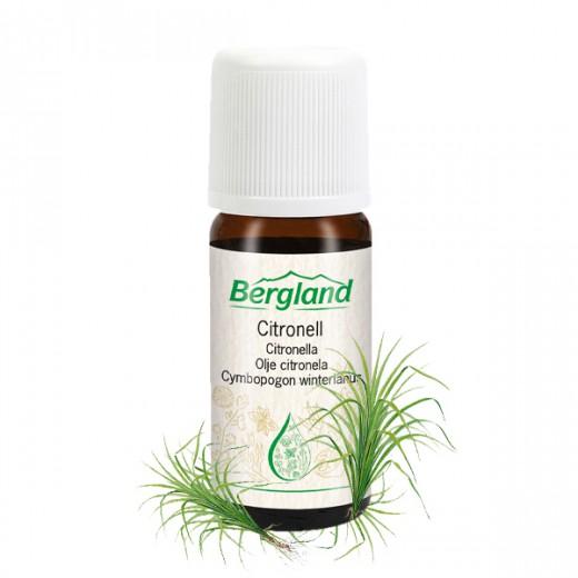Eterično olje CITRONELA Bergland, 10 ml
