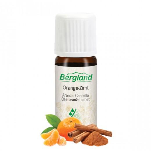 Eterično olje ORANŽA CIMET Bergland, 10 ml