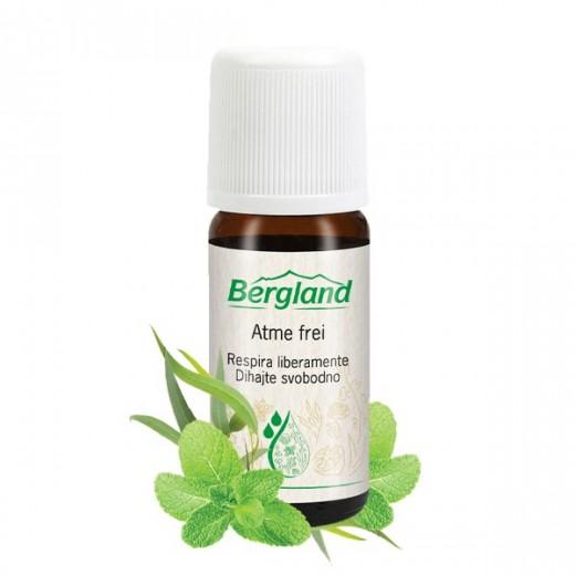 Eterično olje DIHAJTE SVOBODNO Bergland, 10 ml