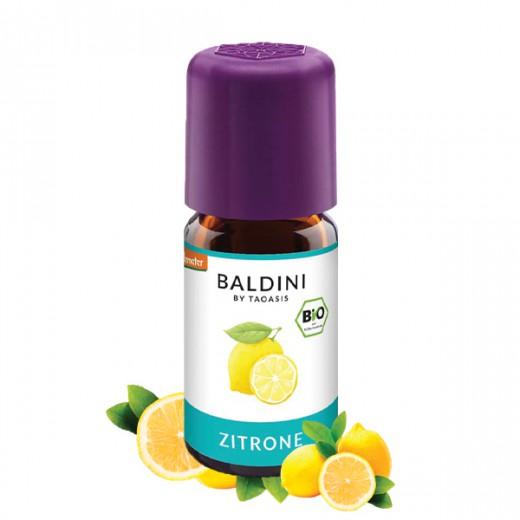 BALDINI aroma olje CITRONA (limona) BIO, 5 ml