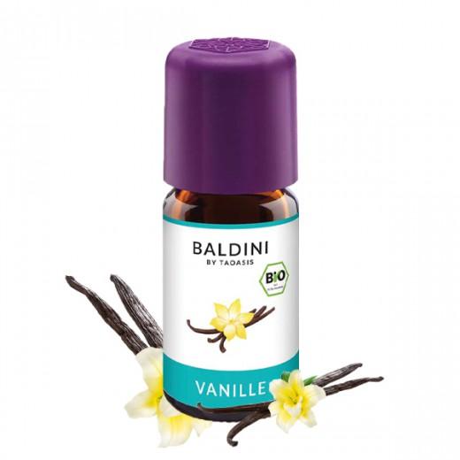 BALDINI aroma olje VANILIJA BIO, 5 ml