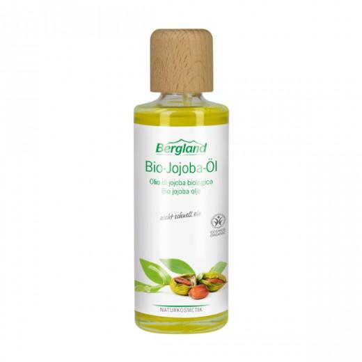 Masažno olje BIO JOJOBA Bergland, 125 ml