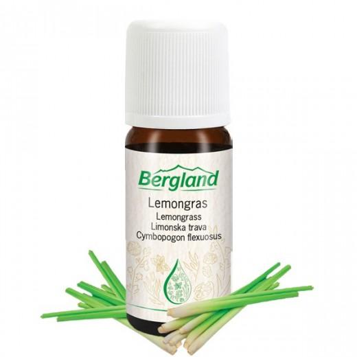 Eterično olje LIMONSKA TRAVA Bergland, 10 ml
