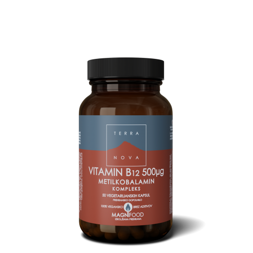Terranova, vitamin B12, 50 kapsul
