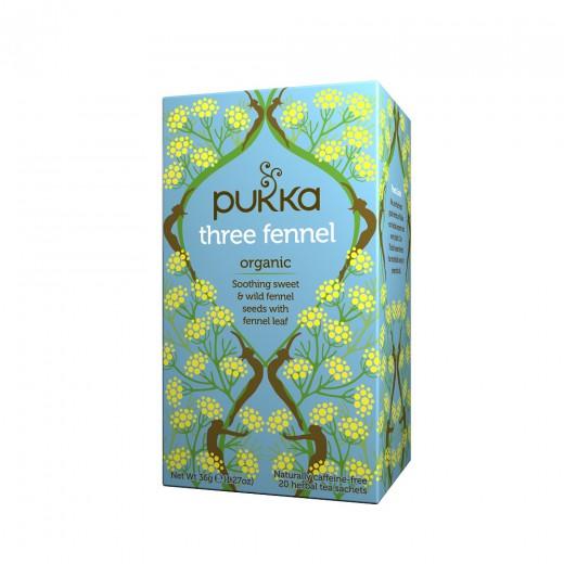 Čaj Trojni komarček Pukka, 20 čajnih vrečk