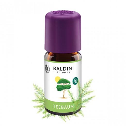 BIO eterično olje ČAJEVEC Baldini, 5 ml
