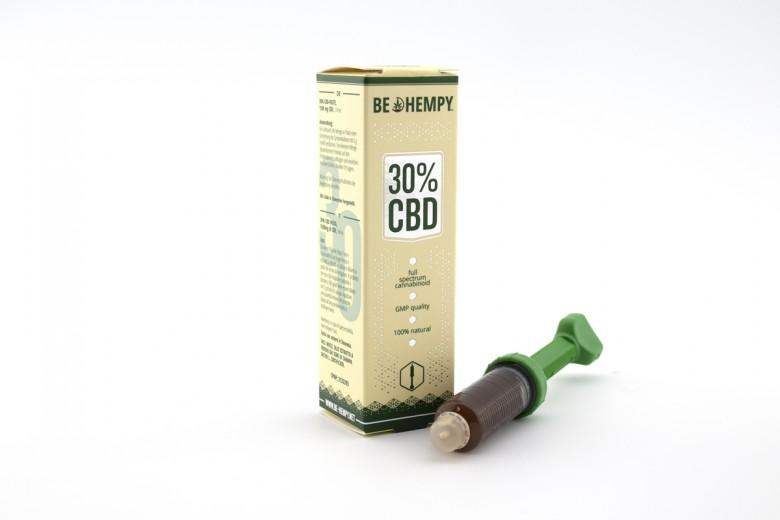 30% CBD pasta Be hempy, 5 ml