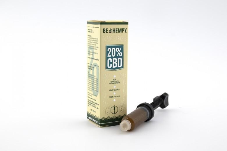 20% CBD konopljina pasta Be Hempy, 5 ml