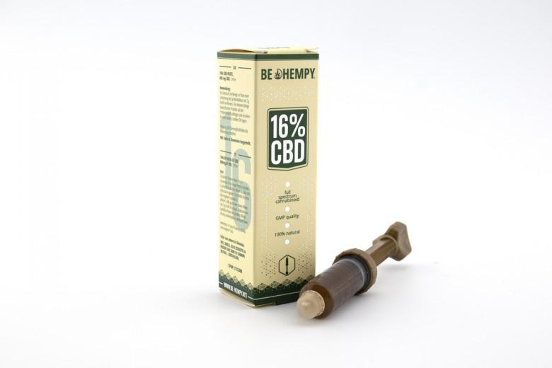 16% CBD pasta Be hempy, 5 ml