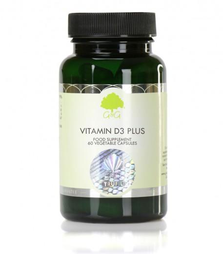 Vitamin D3 4000iu Plus z vitaminom K2 MK-7, 60 kapsul
