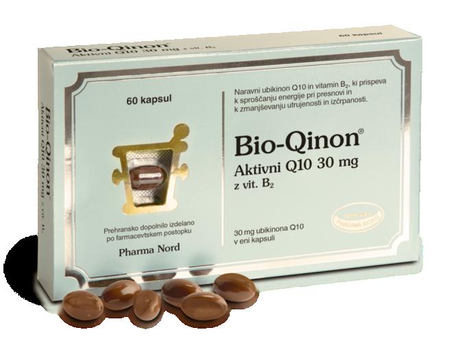 Pharma Nord, Bio - Qinon aktivni Q10 - vitamin C, 60 kapsul