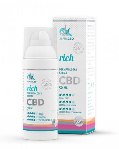 Dermatološka krema Alpha CBD, 50 ml