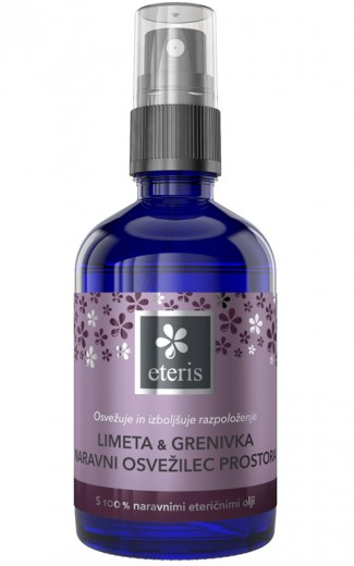 Naravni osvežilec prostora limeta & grenivka Eteris, 100 ml