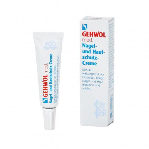 Gehwol med krema za zaščito nohtov in kože, 15 ml