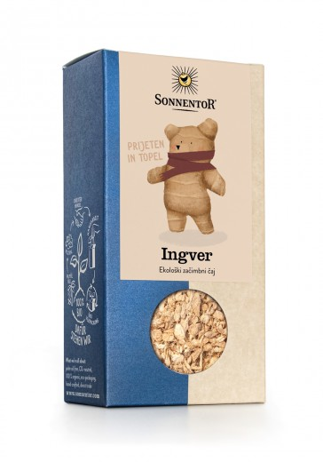 Čaj bio ingver Sonnentor, 90 g