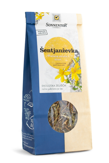 Bio čaj šentjaževka Sonnentor, 60 g