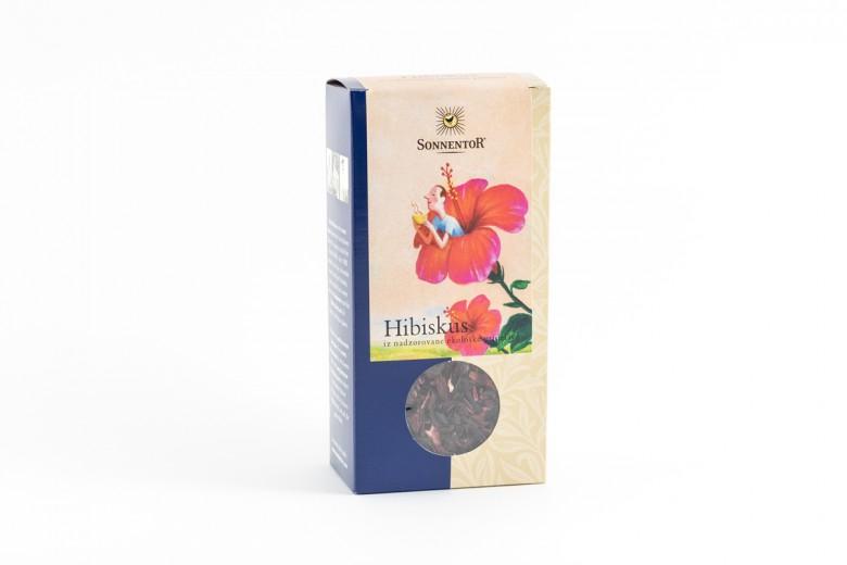 Bio čaj hibiskus Sonnentor, 80 g