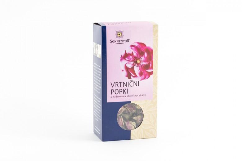Bio čaj vrtnični popki Sonnentor, 30 g