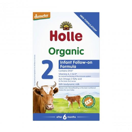 Bio nadaljevalno mleko v prahu 2 po 6. mesecu (Demeter) Holle, 600g