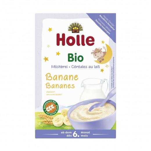Bio bananina mlečna kaša Holle, 250 g