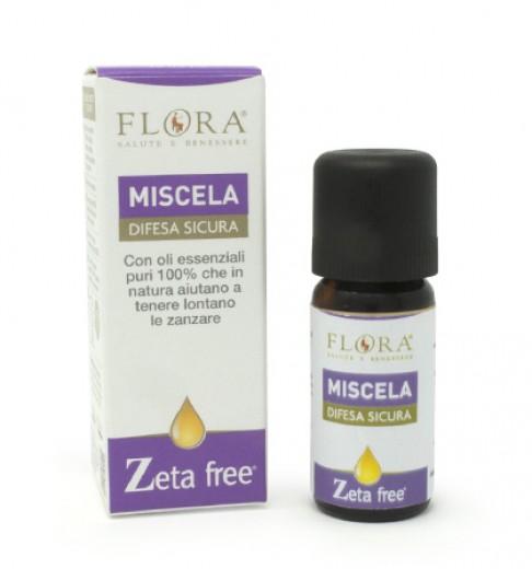 Zeta Free mešanica 100% čistih eteričnih olj Flora, 10 ml